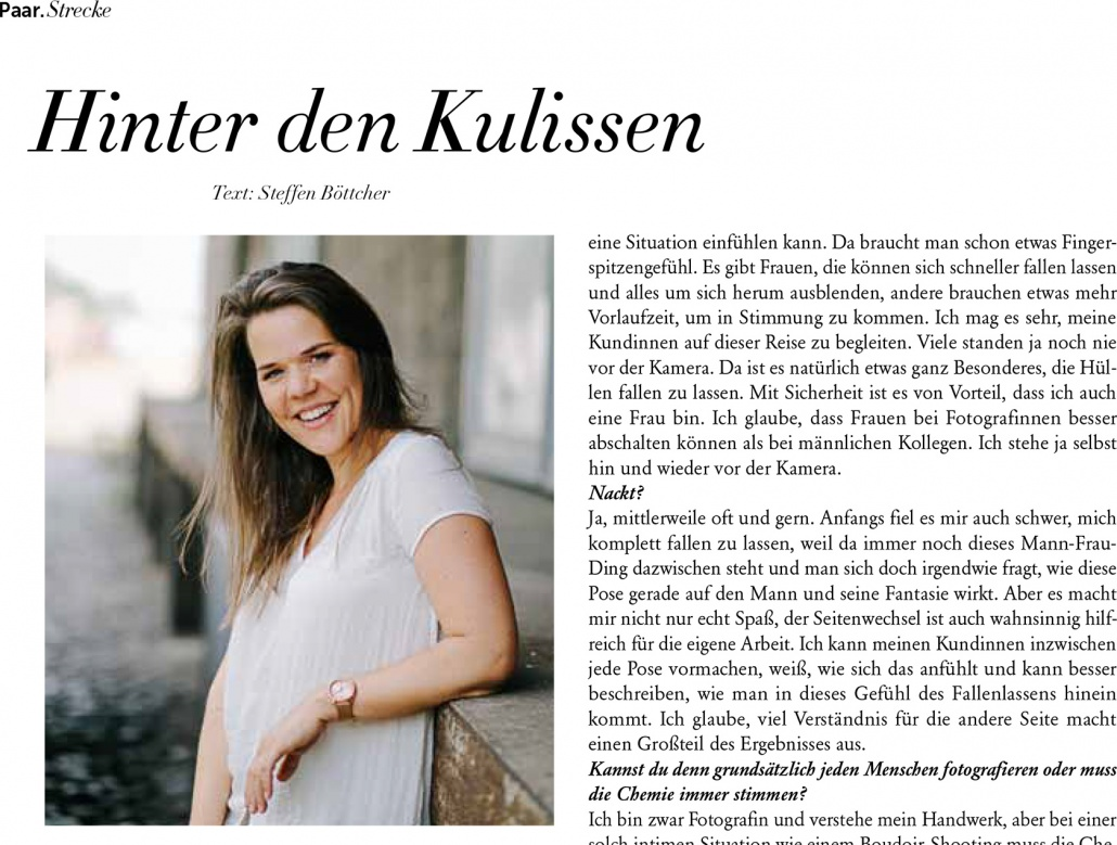 Interview Separee-Magazin