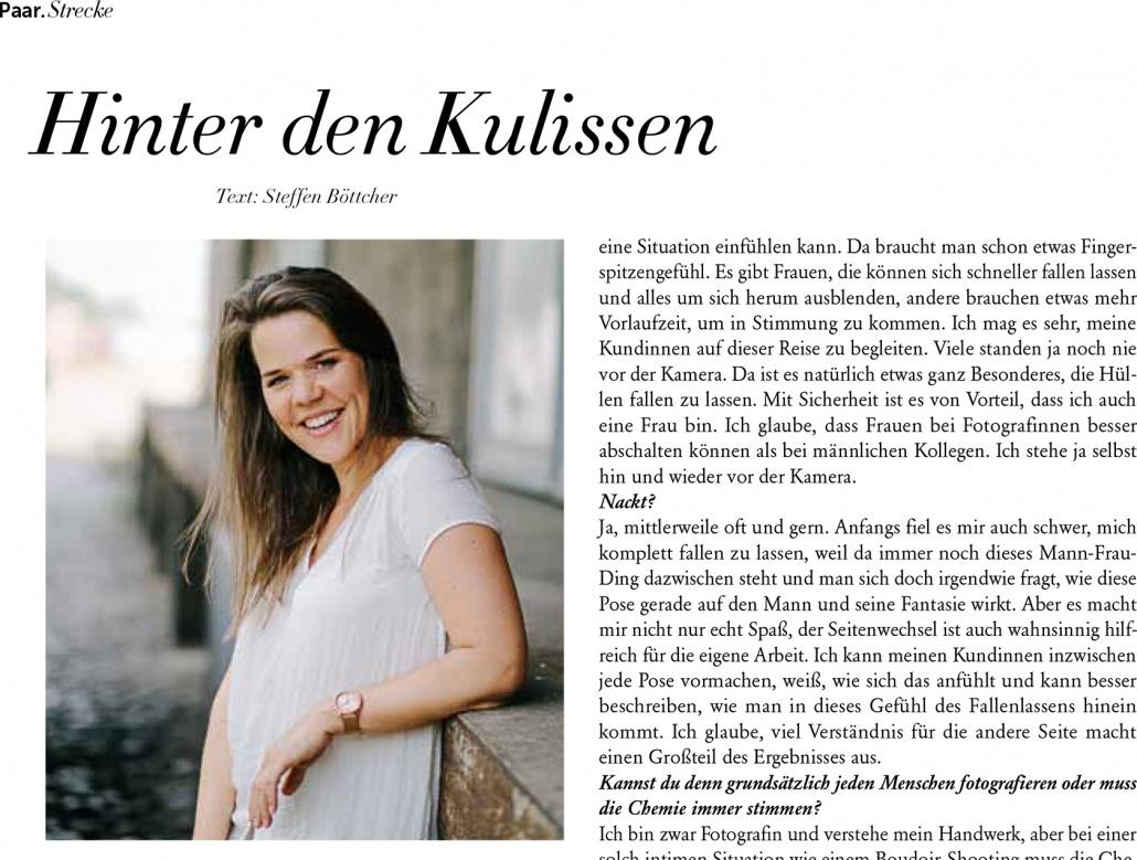 Interview Separee-Magazin